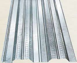 Galvanized Steel Floor Decking Sheet Used As Floor Of