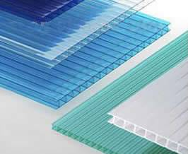 Polycarbonate Hollow Sheet For Construction And Decoration