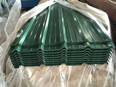 Color Corrugated Roofing Sheets Used Widely Of Good Decoration